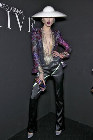 Показ Giorgio Armani Privé коллекции сезона Весна-лето 2011 года Haute couture - www.elle.ru - Подиум - фото 216299