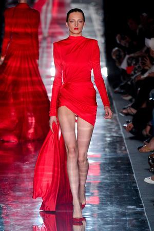 Показ Alexander Vauthier коллекции сезона Осень-зима 2011-2012 года haute couture - www.elle.ru - Подиум - фото 278106