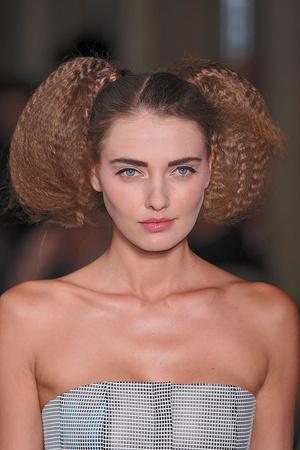 Показ Lefranc Ferrant коллекции сезона Осень-зима 2009-2010 года haute couture - www.elle.ru - Подиум - фото 88113