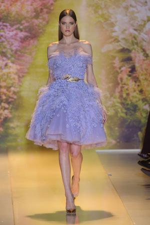 Показ Zuhair Murad коллекции сезона Весна-лето 2014 года haute couture - www.elle.ru - Подиум - фото 575377