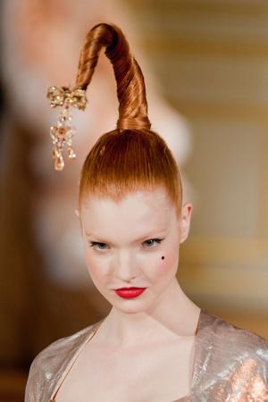 Показ Alexis Mabille коллекции сезона Осень-зима 2012-2013 года haute couture - www.elle.ru - Подиум - фото 403994