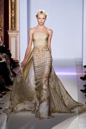 Показ Zuhair Murad коллекции сезона Весна-лето 2013 года Haute couture - www.elle.ru - Подиум - фото 480956
