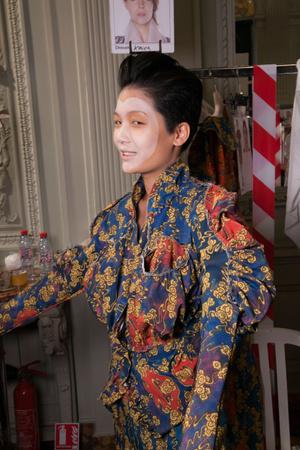 Показ Vivienne Westwood коллекции сезона Весна-лето 2013 года prêt-à-porter - www.elle.ru - Подиум - фото 458075