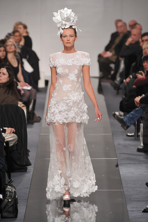 Показ  коллекции сезона Весна-лето 2009 года Haute couture - www.elle.ru - Подиум - фото 86331