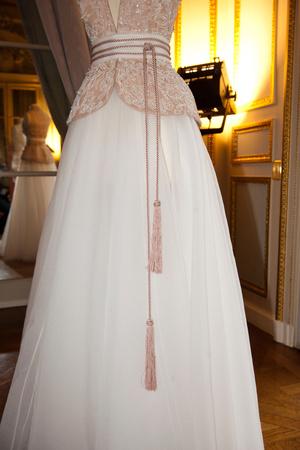 Показ Dilek Hanif коллекции сезона Весна-лето 2013 года haute couture - www.elle.ru - Подиум - фото 479854
