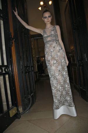 Показ Valentino коллекции сезона Весна-лето 2009 года Haute couture - www.elle.ru - Подиум - фото 86959
