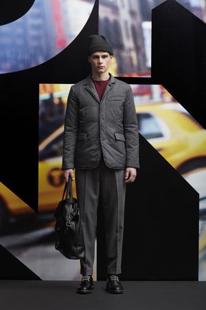 Показ DKNY Man коллекции сезона Осень-зима 2013-2014 года prêt-à-porter - www.elle.ru - Подиум - фото 484923