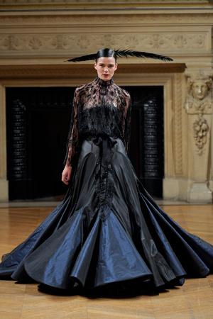 Показ Alexis Mabille коллекции сезона Осень-зима 2011-2012 года haute couture - www.elle.ru - Подиум - фото 277050