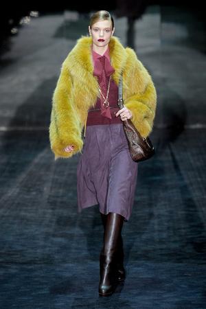 Показ Gucci коллекции сезона Осень-зима 2011-2012 года Prêt-à-porter - www.elle.ru - Подиум - фото 242767