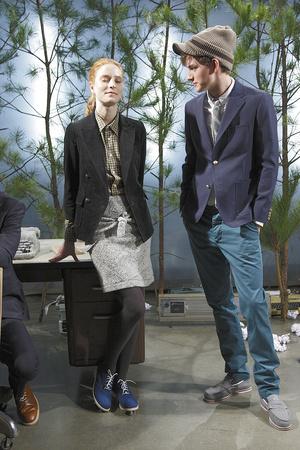 Показ Band of Outsiders коллекции сезона Осень-зима 2010-2011 года Prêt-à-porter - www.elle.ru - Подиум - фото 144144