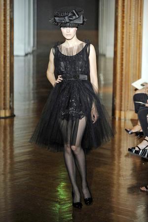 Показ Christian Lacroix коллекции сезона Осень-зима 2009-2010 года haute couture - www.elle.ru - Подиум - фото 87358