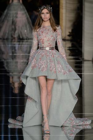 Показ Zuhair Murad коллекции сезона Весна-лето  2016 года Haute couture - www.elle.ru - Подиум - фото 602981