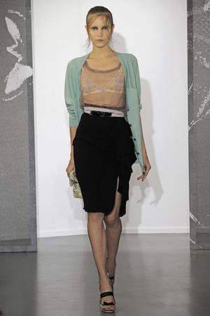 Показ Nina Ricci коллекции сезона Весна-лето 2010 года Prêt-à-porter - www.elle.ru - Подиум - фото 129773