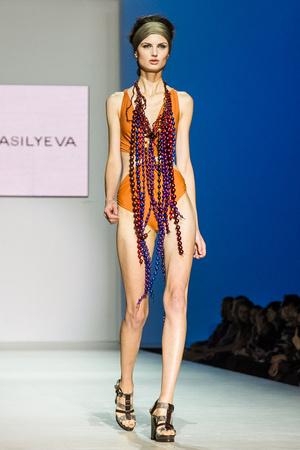 Показ Lena Vasilyeva коллекции сезона Весна-лето 2013 года Prêt-à-porter - www.elle.ru - Подиум - фото 469061