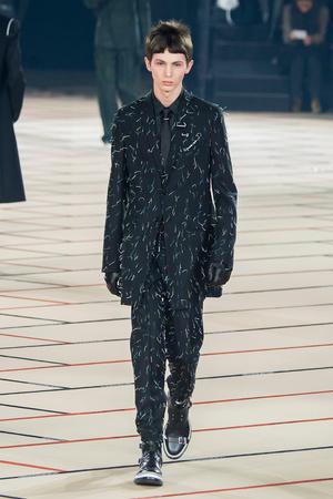 Показ Dior Homme коллекции сезона Осень-зима 2017-2018 года Men prêt-à-porter - www.elle.ru - Подиум - фото 615866