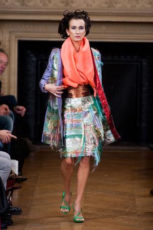 Показ Maurizio Galante коллекции сезона Весна-лето 2013 года haute couture - www.elle.ru - Подиум - фото 477140