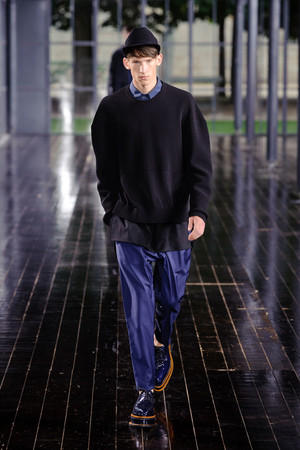 Показ John Galliano коллекции сезона Весна-лето 2014 года Men prêt-à-porter - www.elle.ru - Подиум - фото 556854