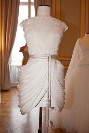 Показ Dilek Hanif коллекции сезона Весна-лето 2013 года haute couture - www.elle.ru - Подиум - фото 479005
