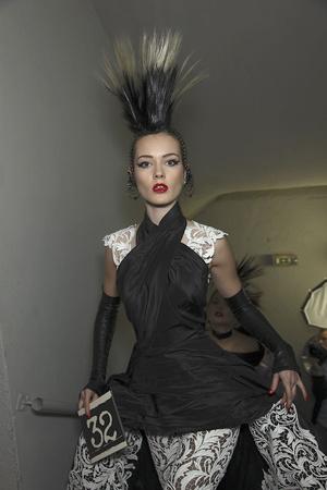 Показ Jean Paul Gaultier коллекции сезона Весна-лето 2011 года Haute couture - www.elle.ru - Подиум - фото 218174