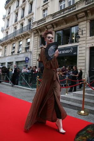 Показ Jean Paul Gaultier коллекции сезона Осень-зима 2011-2012 года Haute couture - www.elle.ru - Подиум - фото 278978