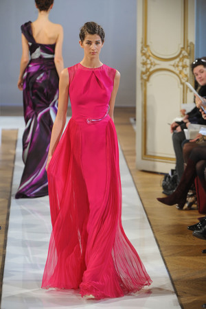 Показ Christophe Josse коллекции сезона Весна-лето 2012 года haute couture - www.elle.ru - Подиум - фото 330183