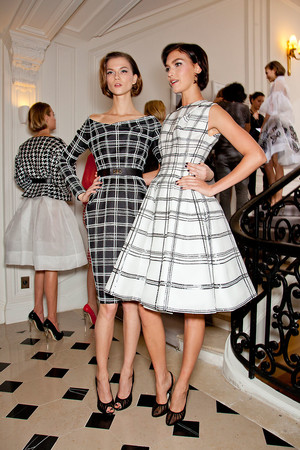 Показ Christian Dior коллекции сезона Весна-лето 2012 года Haute couture - www.elle.ru - Подиум - фото 330647