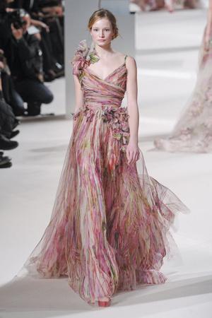 Показ Elie Saab коллекции сезона Весна-лето 2011 года Haute couture - www.elle.ru - Подиум - фото 216808