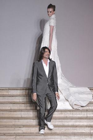 Показ Stephane Rolland коллекции сезона Осень-зима 2009-2010 года Haute couture - www.elle.ru - Подиум - фото 88353