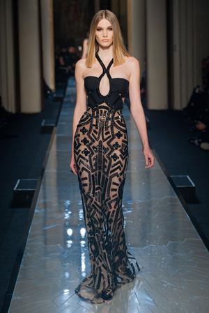 Показ Atelier Versace коллекции сезона Весна-лето 2014 года Haute couture - www.elle.ru - Подиум - фото 574006