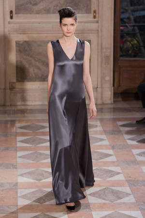 Показ Bouchra Jarrar коллекции сезона Весна-лето 2014 года haute couture - www.elle.ru - Подиум - фото 574674