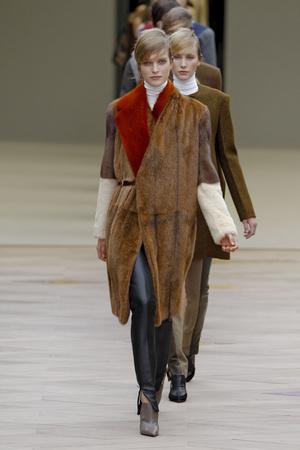 Показ Celine коллекции сезона Осень-зима 2011-2012 года Prêt-à-porter - www.elle.ru - Подиум - фото 253786