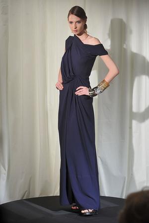 Показ Dominique Sirop коллекции сезона Весна-лето 2009 года Haute couture - www.elle.ru - Подиум - фото 86499