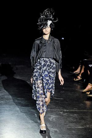 Показ Junya Watanabe коллекции сезона Весна-лето 2012 года prêt-à-porter - www.elle.ru - Подиум - фото 310863