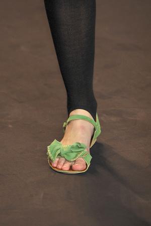 Показ Anna Sui коллекции сезона Весна-лето 2010 года prêt-à-porter - www.elle.ru - Подиум - фото 110495