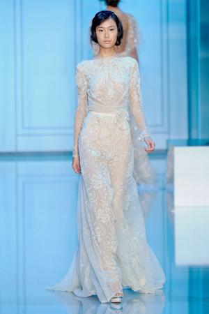 Показ Elie Saab коллекции сезона Осень-зима 2011-2012 года haute couture - www.elle.ru - Подиум - фото 278790