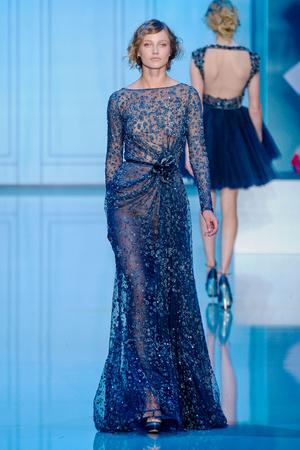 Показ Elie Saab коллекции сезона Осень-зима 2011-2012 года haute couture - www.elle.ru - Подиум - фото 278791