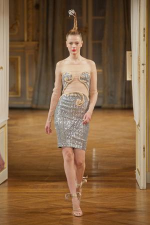 Показ Alexis Mabille коллекции сезона Осень-зима 2012-2013 года haute couture - www.elle.ru - Подиум - фото 403455