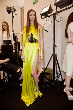 Показ Stephane Rolland коллекции сезона Весна-лето 2012 года Haute couture - www.elle.ru - Подиум - фото 332077