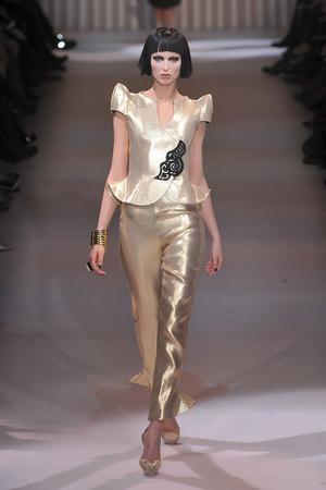 Показ Giorgio Armani Privé коллекции сезона Весна-лето 2009 года Haute couture - www.elle.ru - Подиум - фото 86761