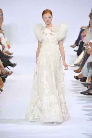 Показ Elie Saab коллекции сезона Осень-зима 2009-2010 года haute couture - www.elle.ru - Подиум - фото 87538