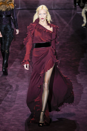 Показ Gucci коллекции сезона Осень-зима 2012-2013 года Prêt-à-porter - www.elle.ru - Подиум - фото 359290