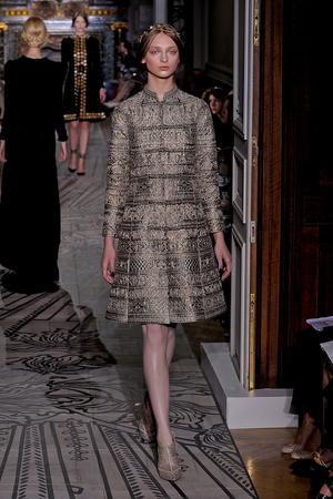 Показ Valentino коллекции сезона Осень-зима 2011-2012 года haute couture - www.elle.ru - Подиум - фото 278543