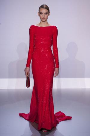 Показ Ralph & Russo коллекции сезона Весна-лето 2014 года Haute couture - www.elle.ru - Подиум - фото 575435