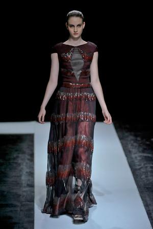 Показ Maxime Simoens коллекции сезона Осень-зима 2011-2012 года haute couture - www.elle.ru - Подиум - фото 278933
