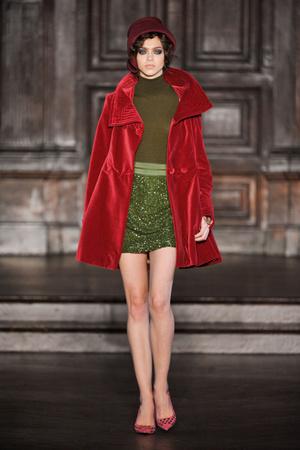 Показ L'Wren Scott коллекции сезона Осень-зима 2012-2013 года prêt-à-porter - www.elle.ru - Подиум - фото 350233