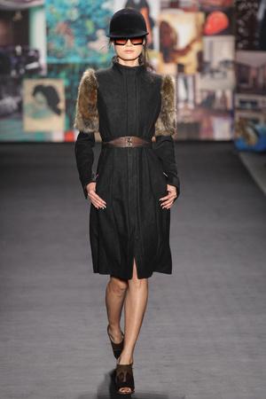 Показ Tracy Reese коллекции сезона Осень-зима 2012-2013 года prêt-à-porter - www.elle.ru - Подиум - фото 342596