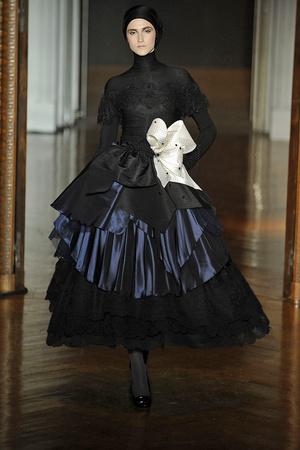 Показ Christian Lacroix коллекции сезона Осень-зима 2009-2010 года haute couture - www.elle.ru - Подиум - фото 87351
