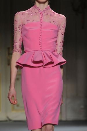 Показ Georges Hobeika коллекции сезона Весна-лето 2013 года Haute couture - www.elle.ru - Подиум - фото 478164