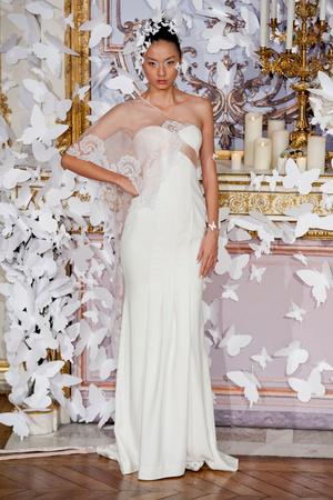 Показ Alexis Mabille коллекции сезона Весна-лето 2014 года haute couture - www.elle.ru - Подиум - фото 574426