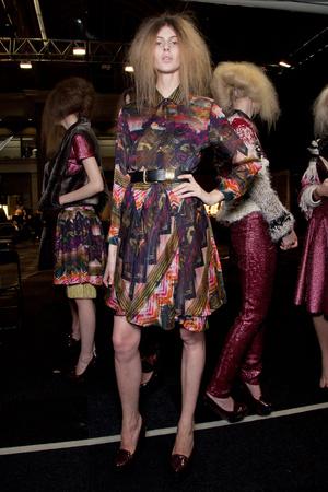 Показ Fashion East коллекции сезона Осень-зима 2012-2013 года Prêt-à-porter - www.elle.ru - Подиум - фото 357401